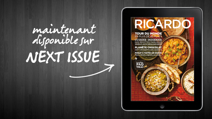 Le magazine RICARDO lance ses éditions tablette dans l'application Next Issue