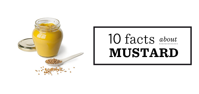 10 facts about mustard