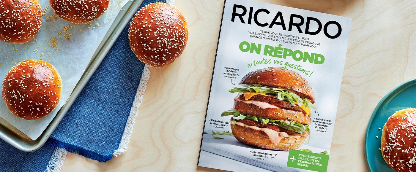 À votre écoute plus que jamais avec le nouveau magazine printanier RICARDO