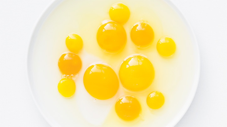Why use room-temperature eggs when baking?