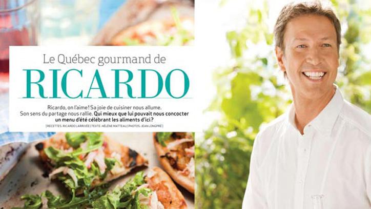 Le Québec gourmand de Ricardo