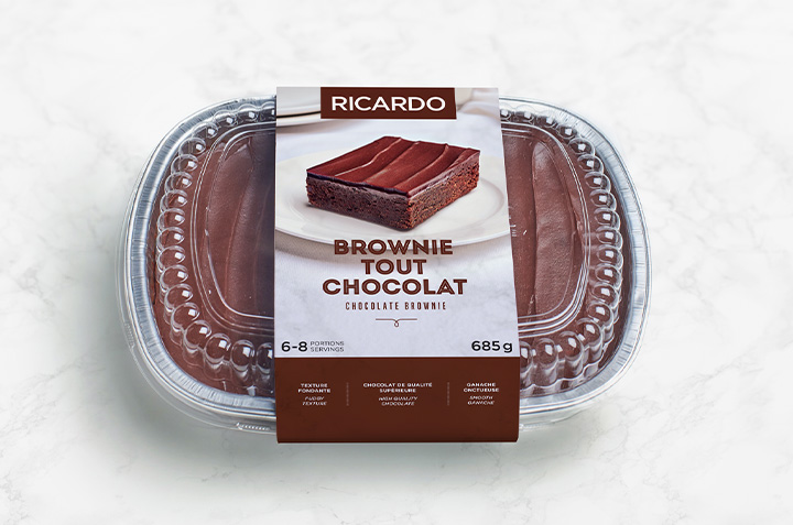 New RICARDO Ultimate Chocolate Brownie Available in Stores