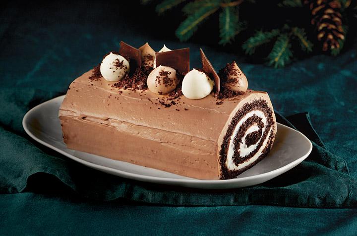 The New RICARDO Triple Chocolate Yule Log