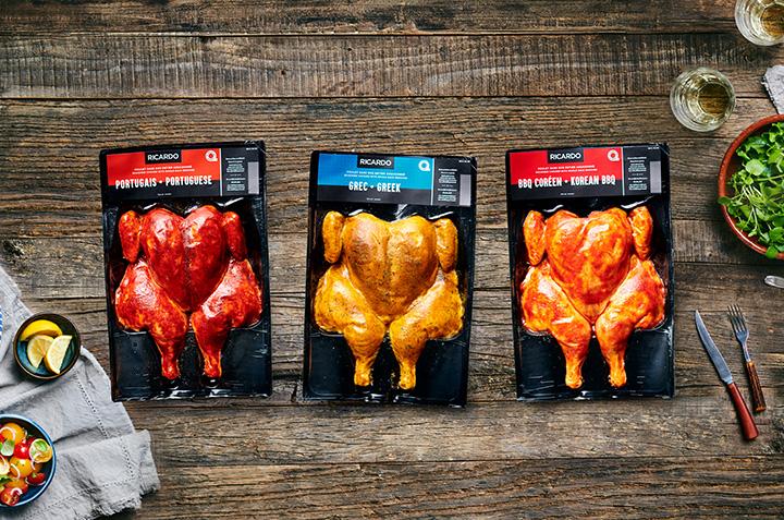Nouveaux poulets en crapaudine RICARDO