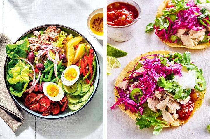 3 façons d'apprêter le thon blanc à l'heure du lunch