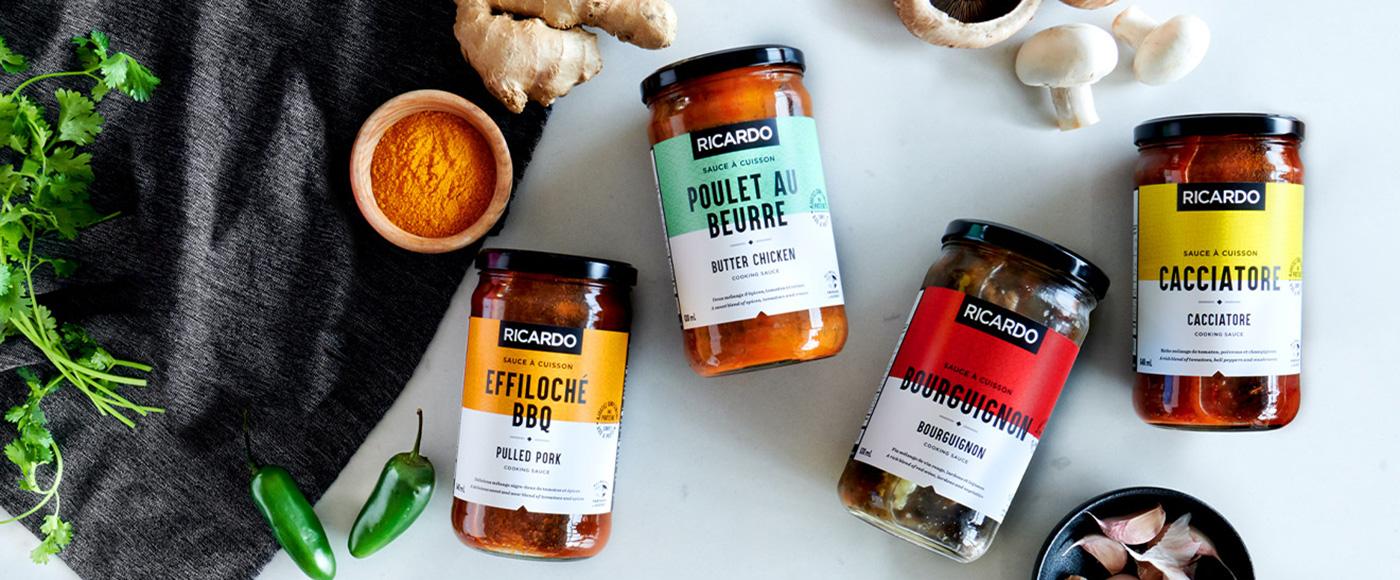 New RICARDO Cooking Sauces