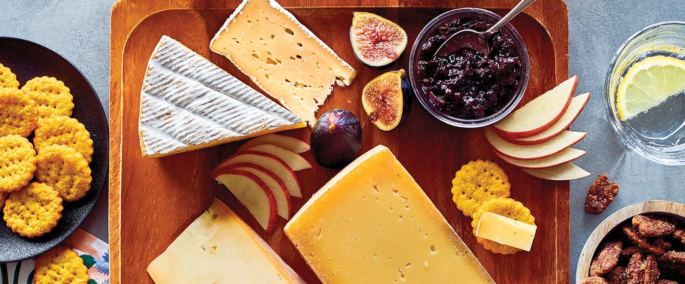 Comment assembler un plateau de fromages automnal