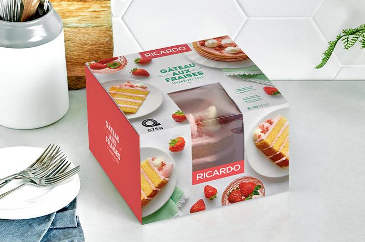 Introducing the New RICARDO Strawberry Cake