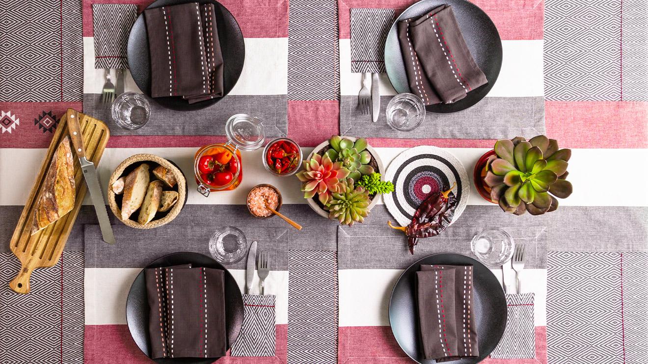 3 idées pour décorer votre table sans stress