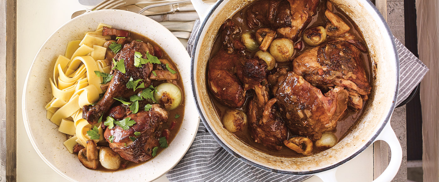 How to Make the Ultimate Coq au Vin