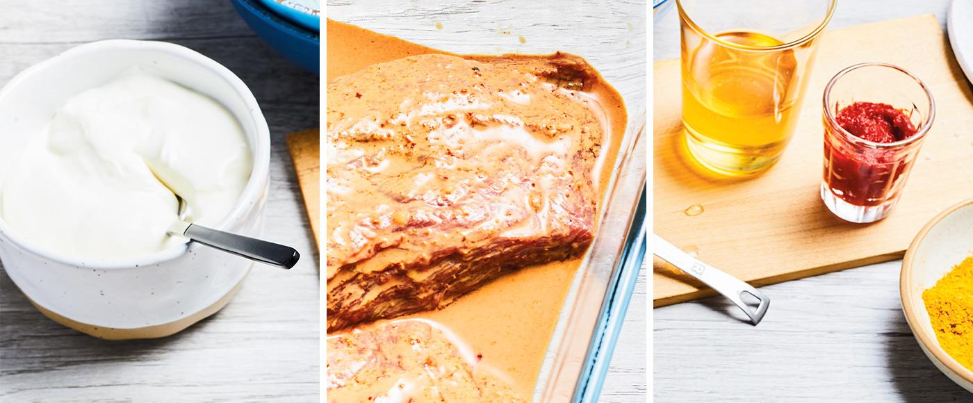 3 marinades à base de yogourt pour des grillades savoureuses
