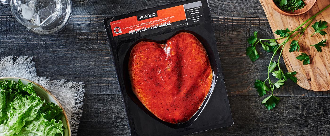 Coup de coeur pour les poitrines de poulet à la portugaise RICARDO