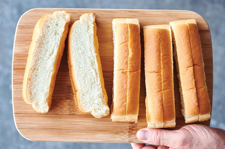 4 façons d'utiliser vos restes de pains à hot‑dog