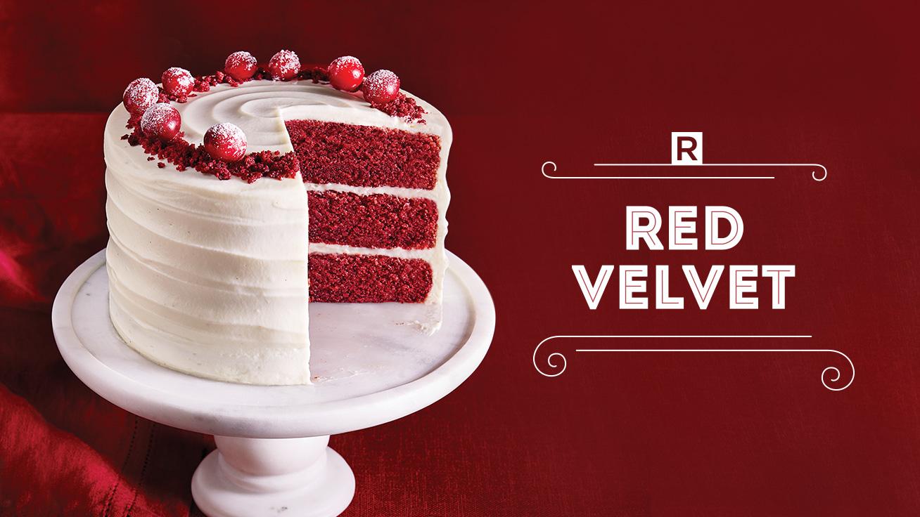 Le Red Velvet RICARDO en vente chez IGA