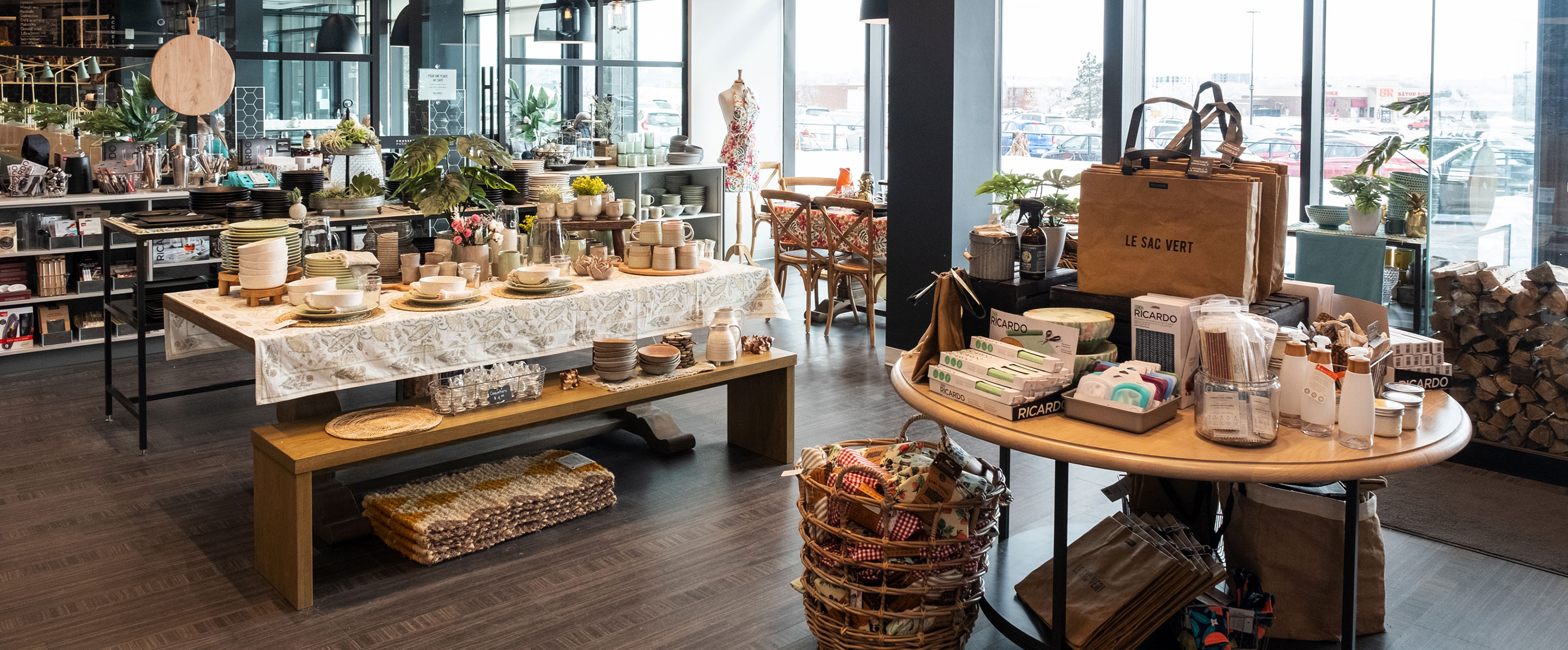 Reopening of Boutique RICARDO in Quebec City