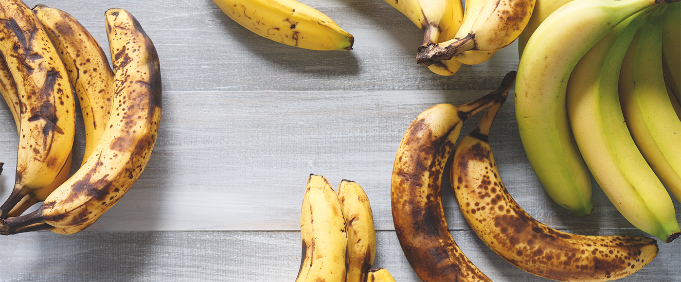 4 façons d'utiliser vos restes de bananes mûres