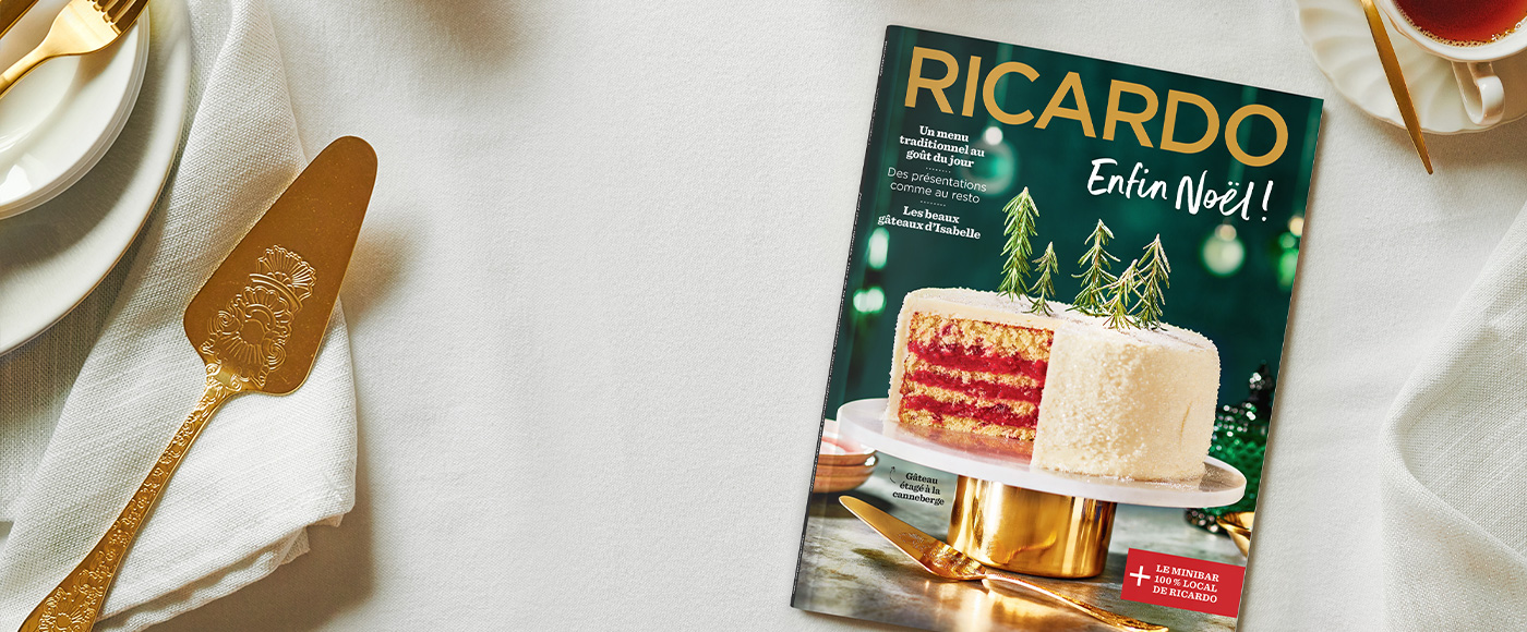 Un Noël hors de l'ordinaire avec le nouveau magazine RICARDO!