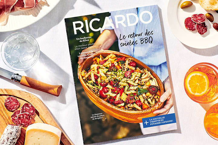 Le retour des soirées BBQ avec le nouveau magazine RICARDO !