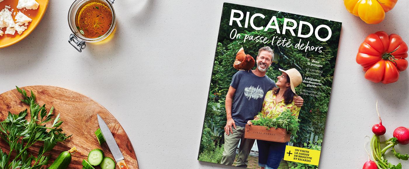 On passe l'été dehors avec le nouveau magazine RICARDO