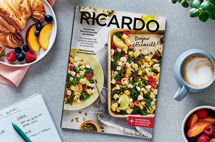 Prêts pour une rentrée tout en efficacité avec le nouveau magazine RICARDO