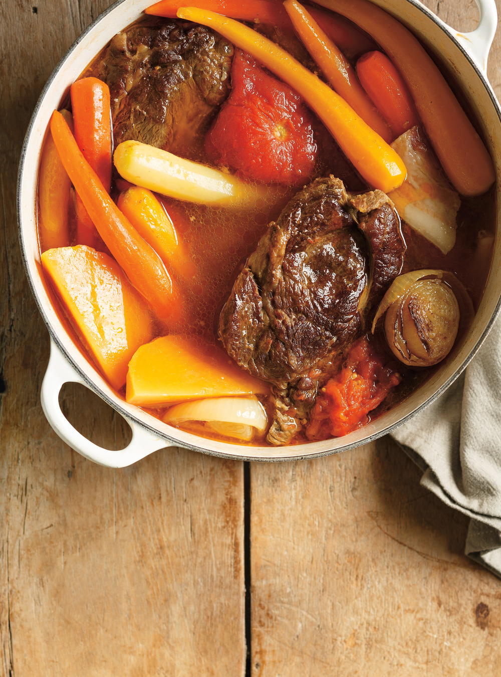 Beef and Tomato Pot-au-Feu | Ricardo