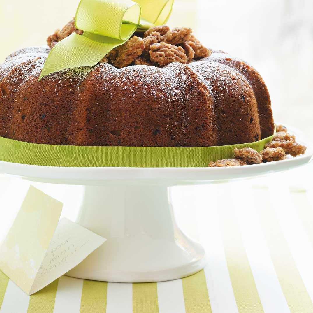 Gâteau «Bundt» à la banane et à la cardamome
