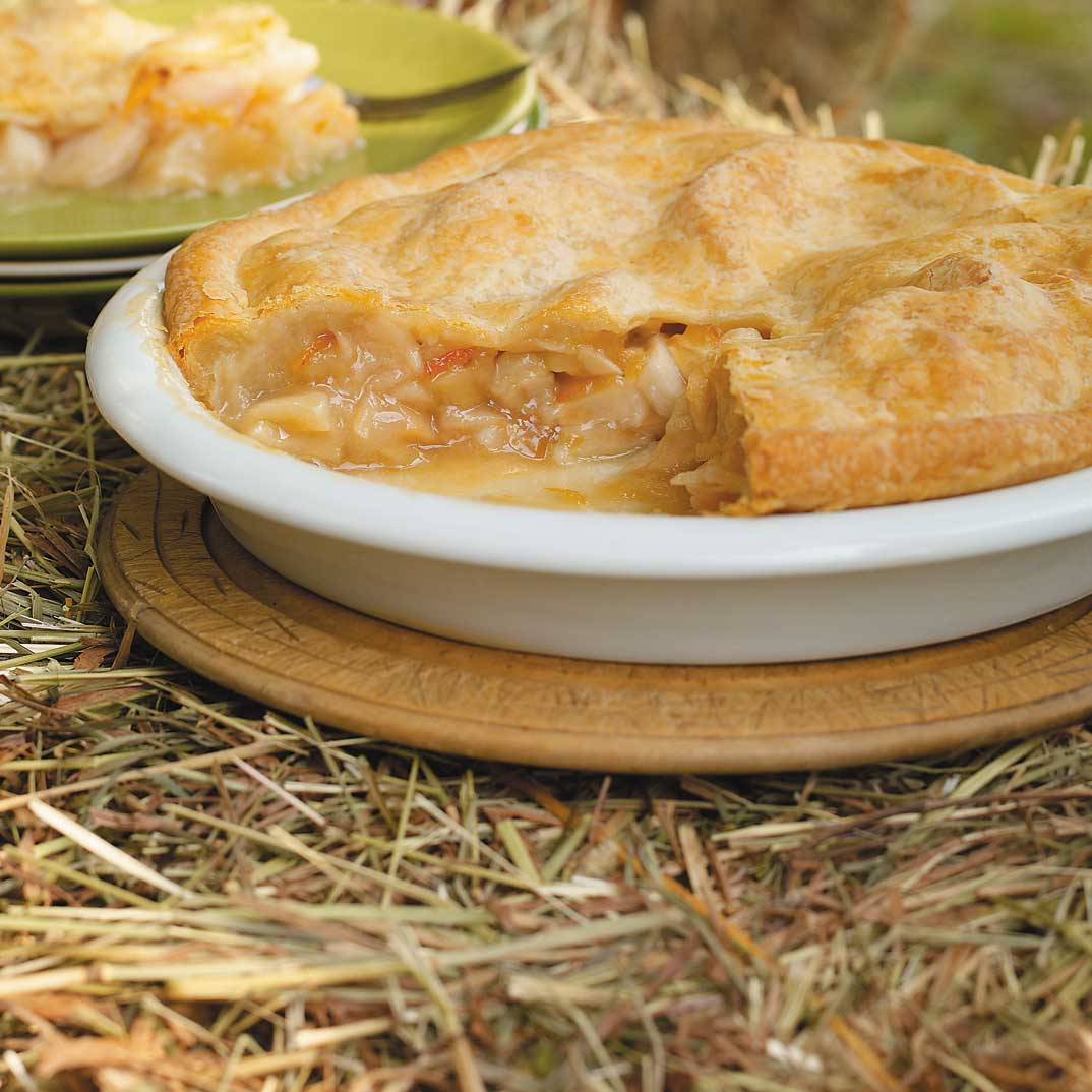 Apple and Marmalade Pie