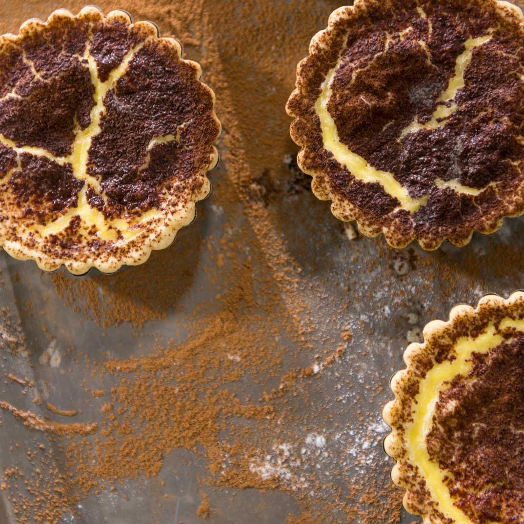 Tarte au sucre d'érable de Daniel Vézina