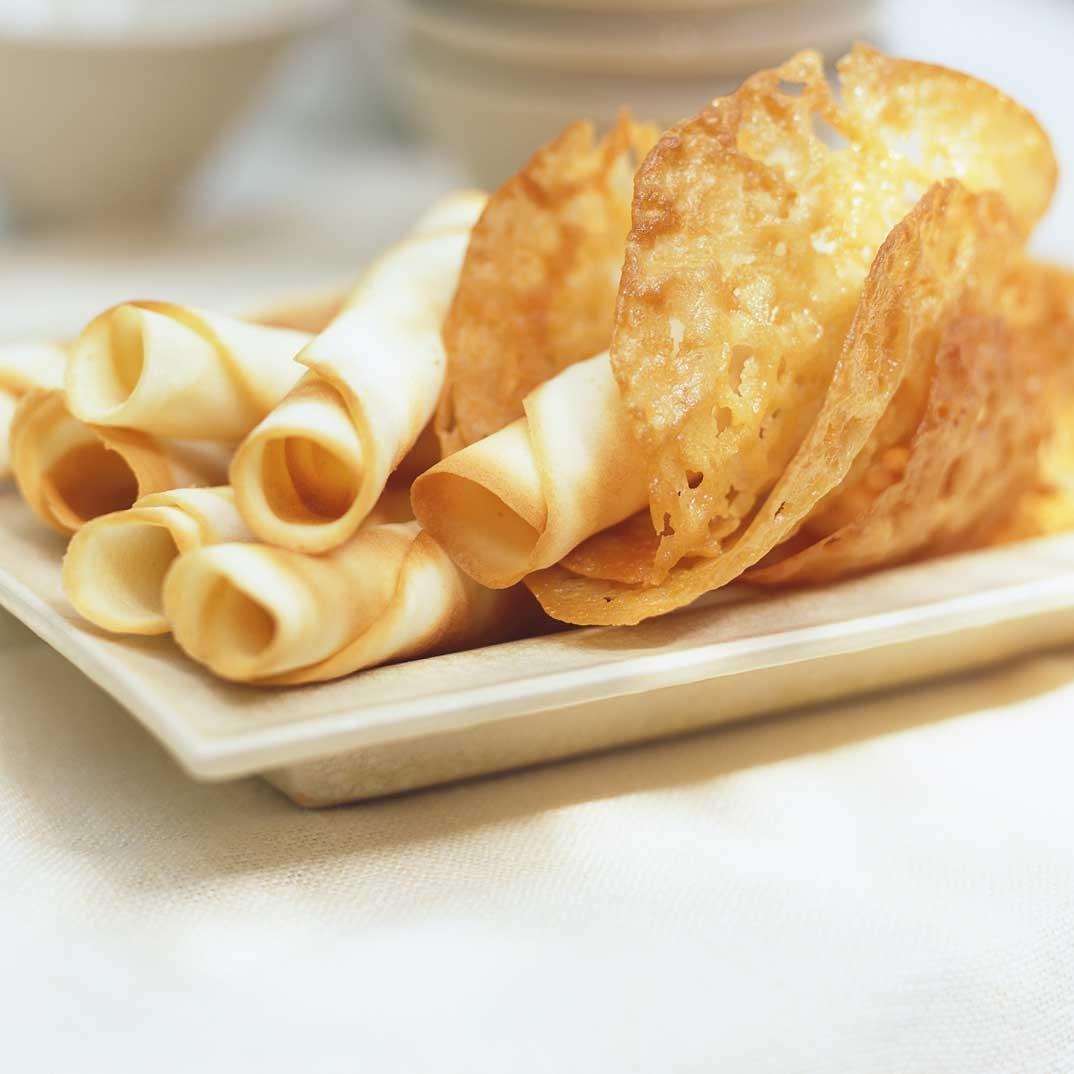 Biscuits dentelles au gingembre