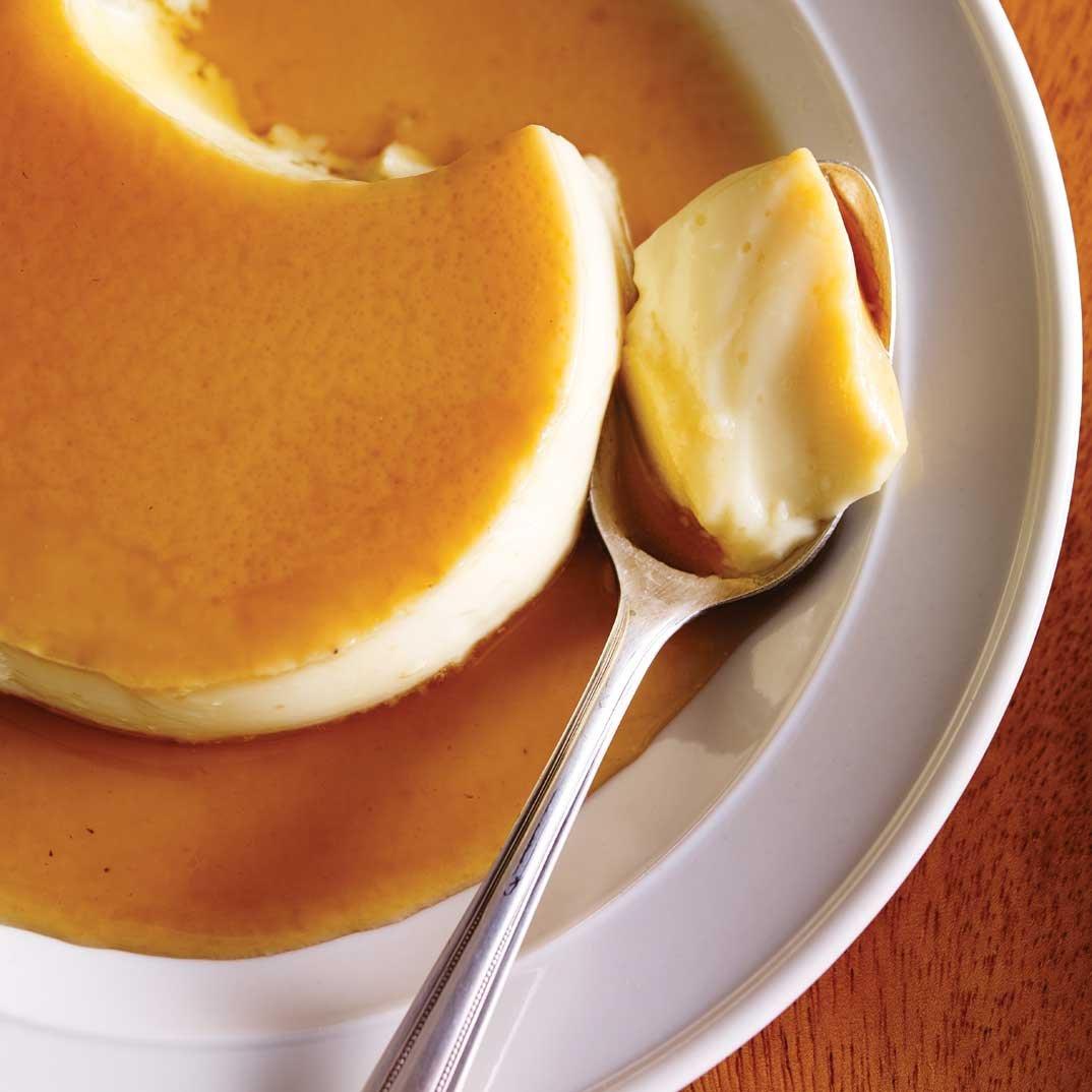 Crème caramel à l'érable
