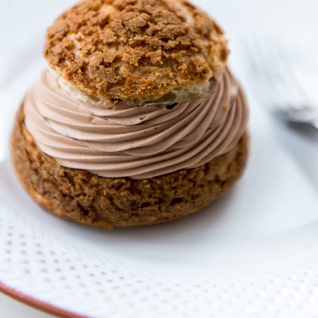 Choux au chocolat et café St-Henri de Patrice Demers