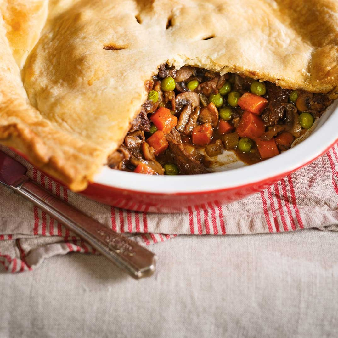 Braised Beef Pie