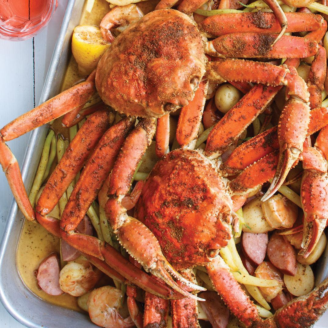 <i>Crab boil</i> à l'américaine