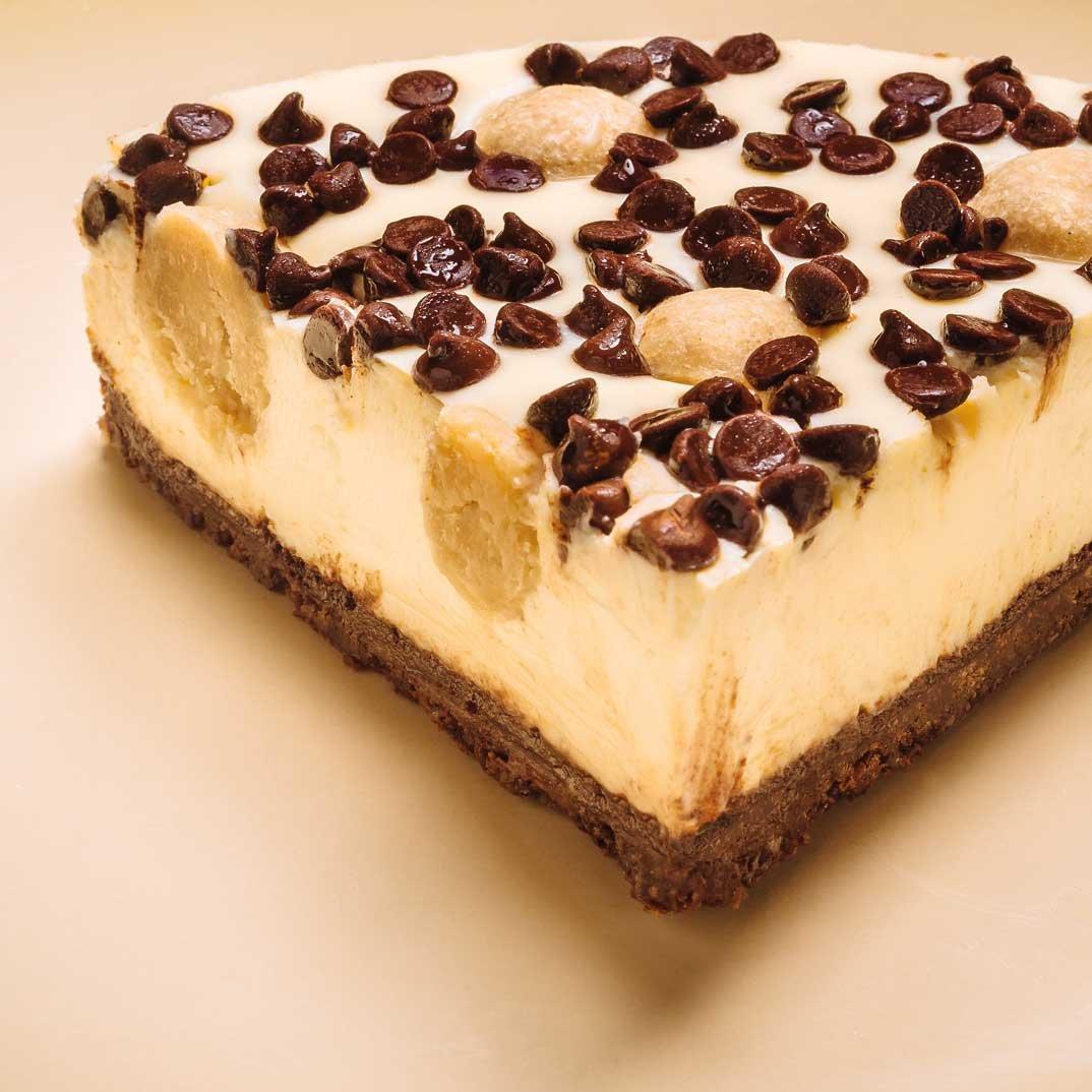 Gâteau au fromage à la pâte à biscuits