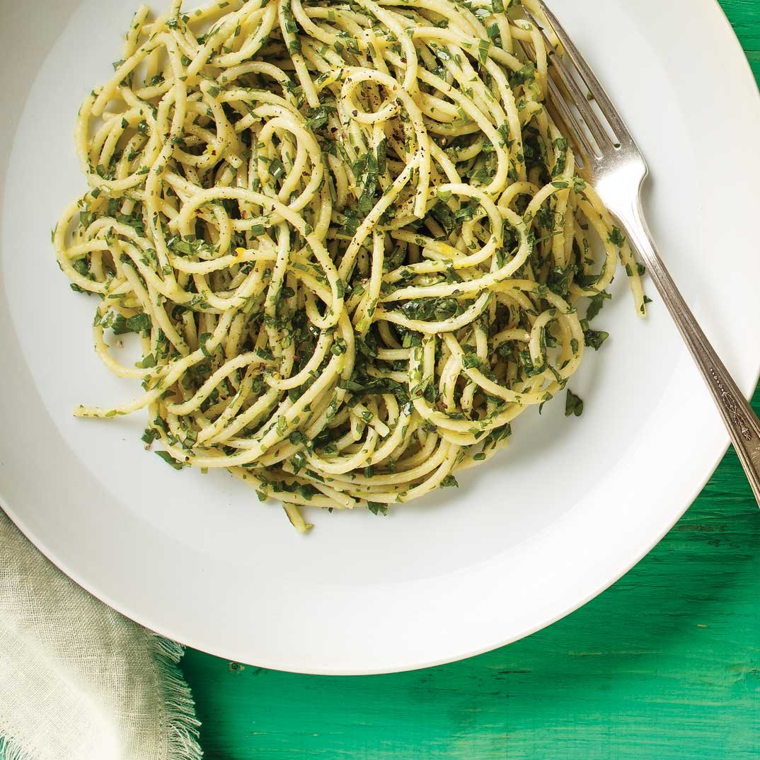 Thousand-Herb Spaghetti