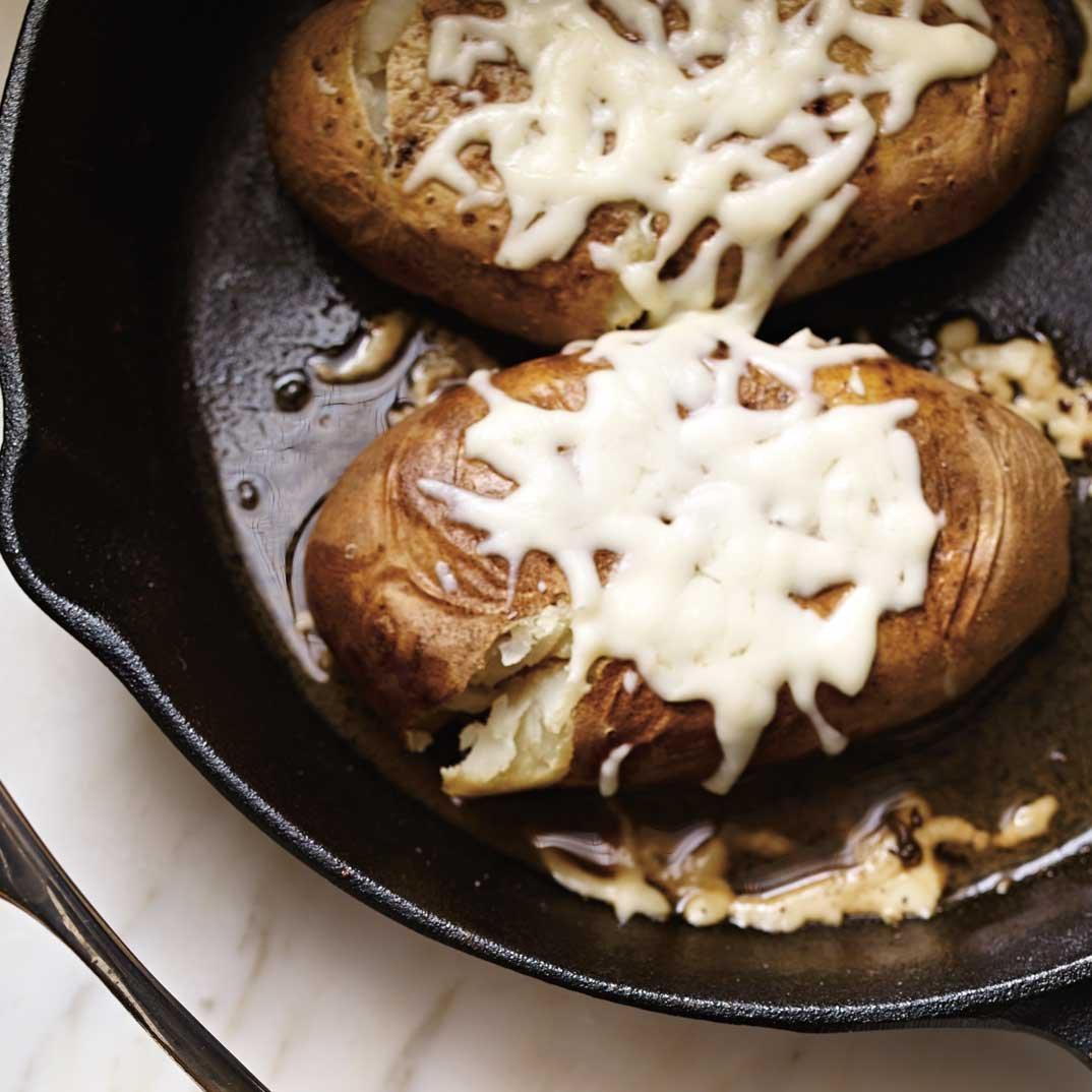 Beef and Veggie Smashed Potato