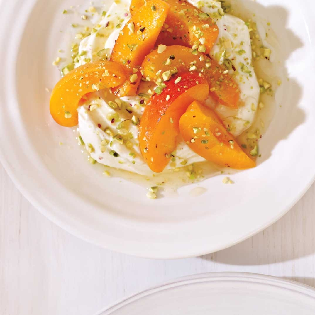 Apricot and Pistachio Salad