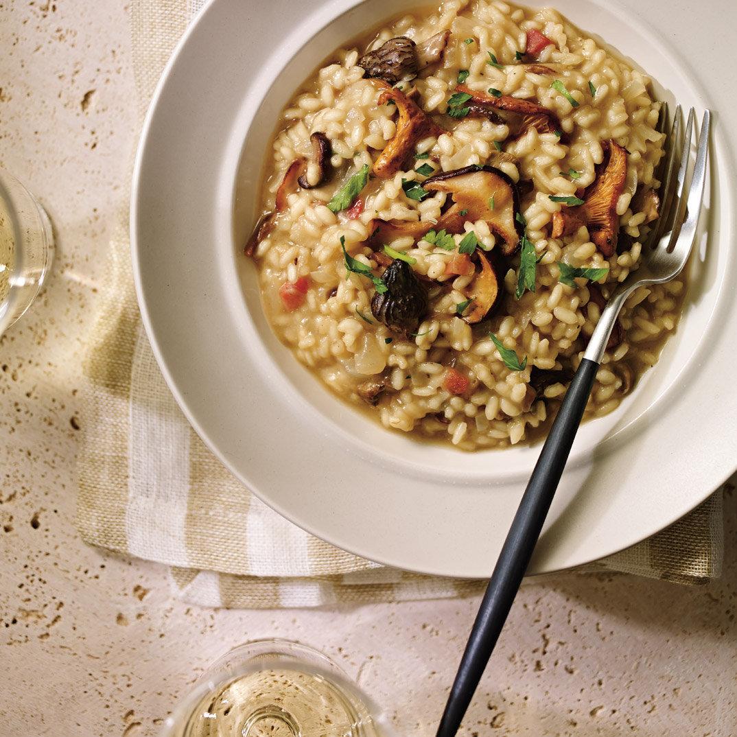 Mushroom and Pancetta Risotto
