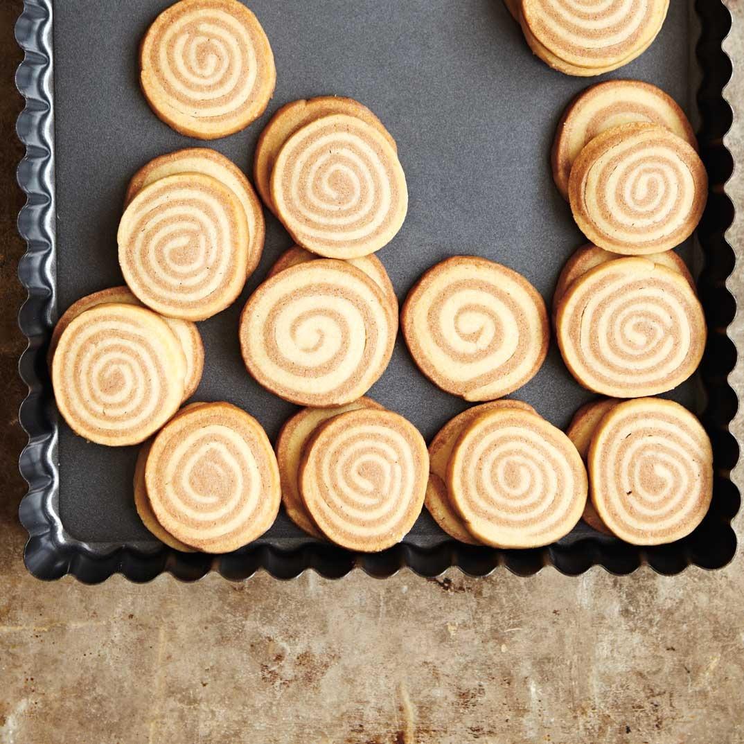 Biscuits roulés à la cannelle
