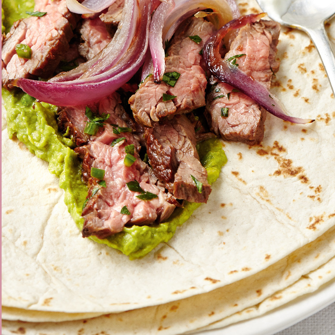 Beef and Onion Wrap