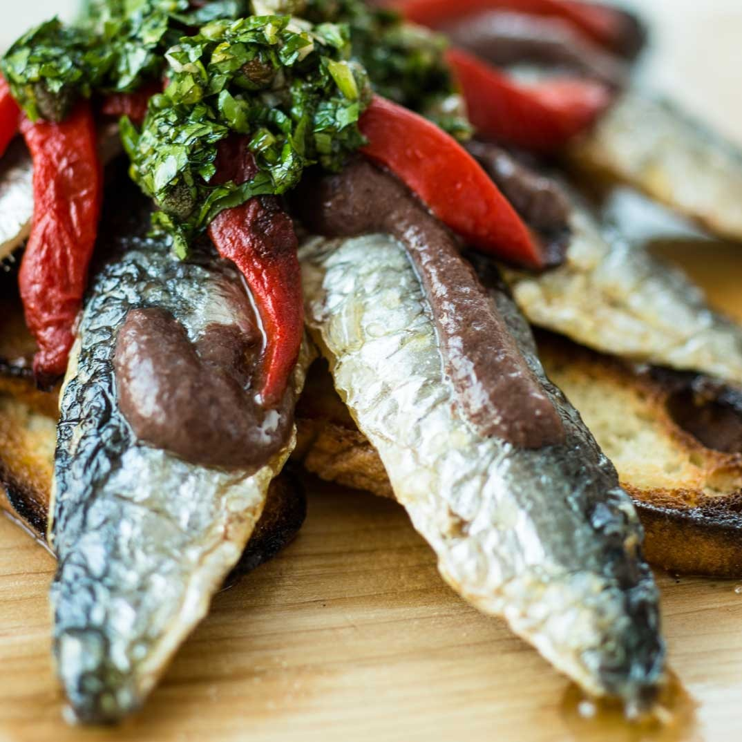 Helena Loureiro's Grilled Sardine Fillets
