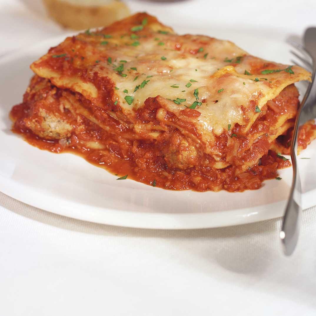 Lasagna della mia mamina (lasagne de la famille de Marina Orsini)