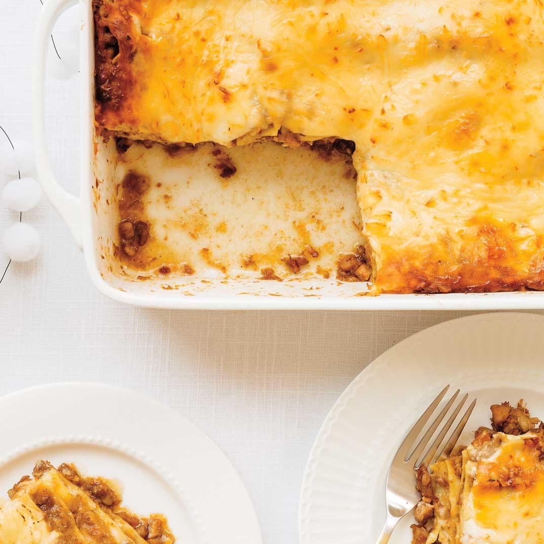 Meat Pie Lasagna