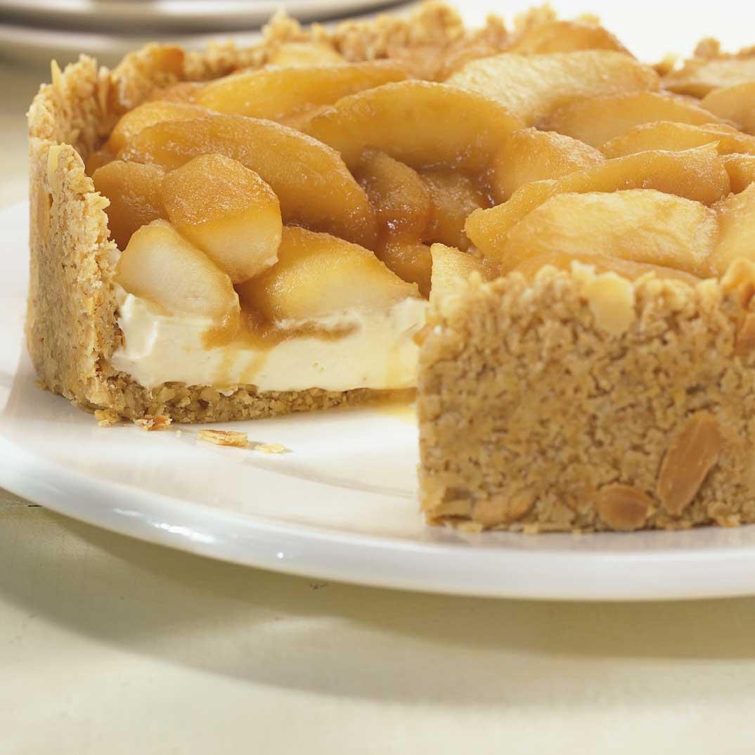 Tarte aux pommes caramélisées au Calijo