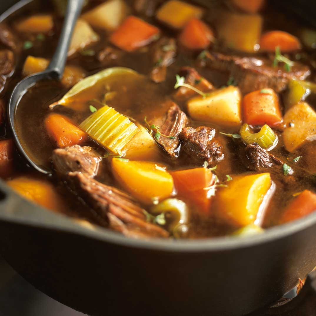 Beef Stew with Pumpkin and Vegetables (The Wicked Witch Beef Stew)