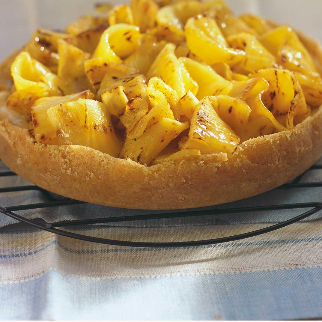 Tarte à l'ananas grillé