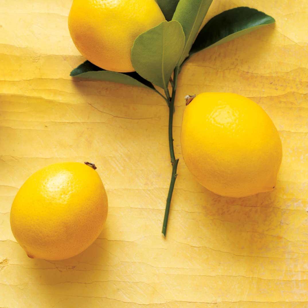 Cake au citron et au thé vert