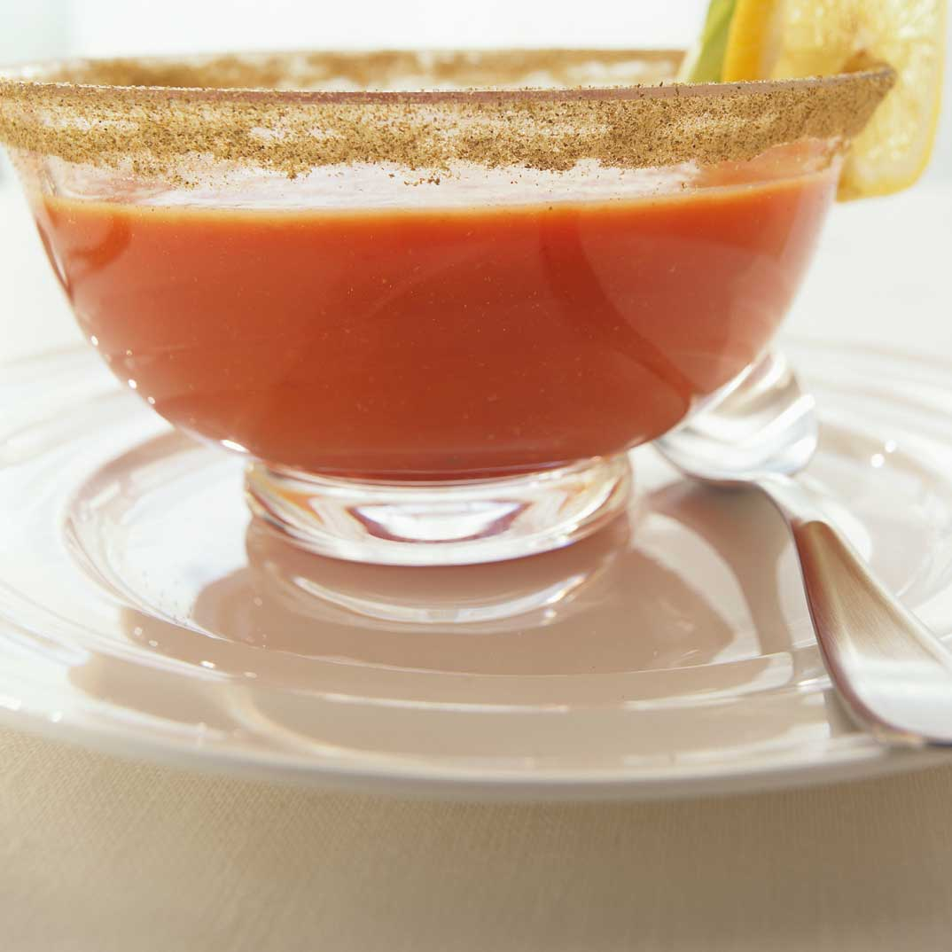 Potage bloody mary ricardo - Recette bloody mary ...