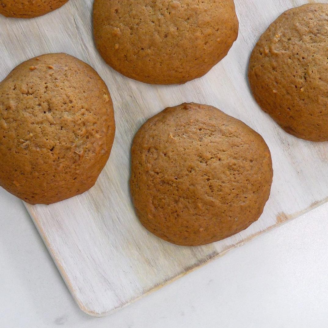 Biscuits à la mélasse et aux bananes