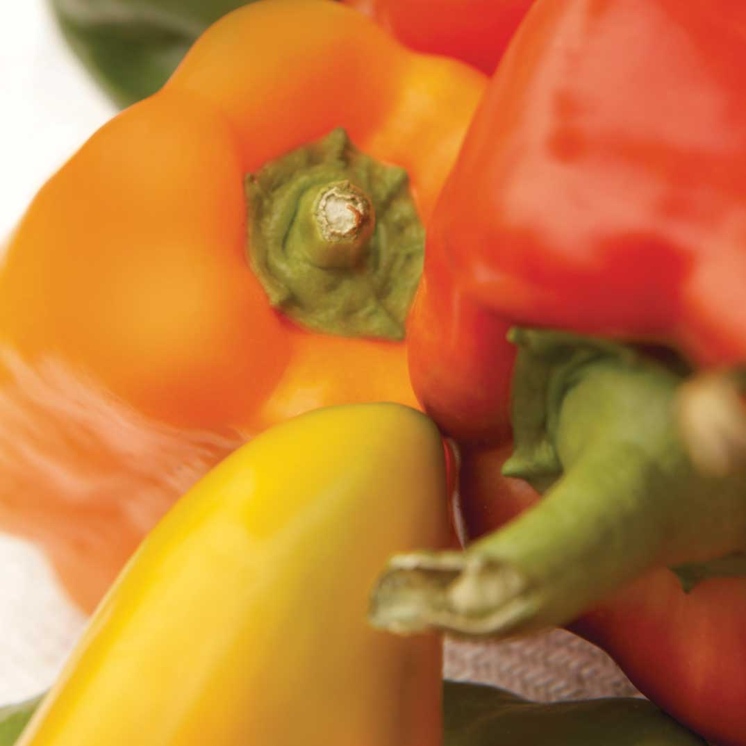 Tricolor Bell Pepper Relish